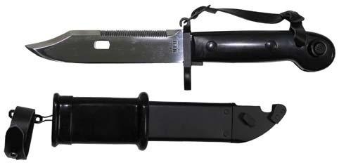 Bajonett AK 47 schwarz