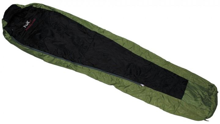 Minipack Schlafsack DURALIGHT oliv/schwarz