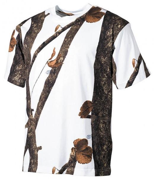 US Army T-Shirt Blätter-tarn