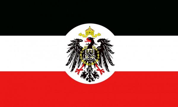 Flagge Deutsches Reich mit Wappen