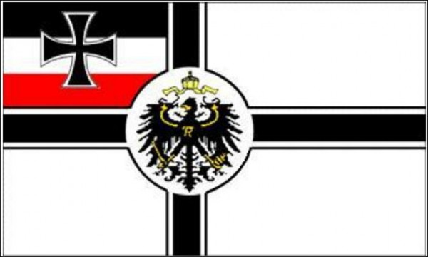 Flagge Deutsche Kaiserliche Marine