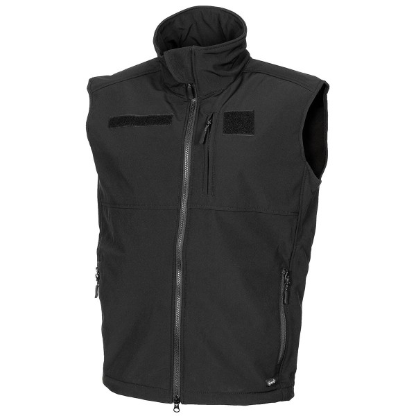 Softshell Weste Explorer Allround schwarz