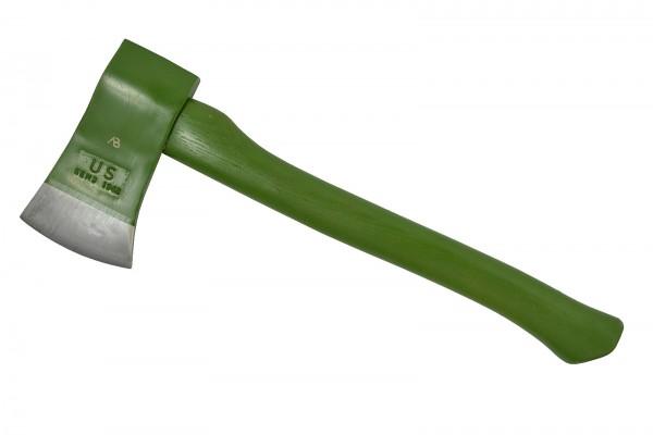 US Spaltaxt mit Holzgriff oliv 43cm