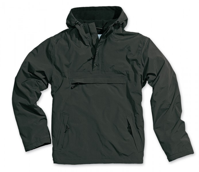 Hooded Windbreaker mit Fleecefutter