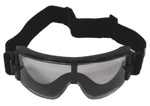Schutzbrille Thunder schwarz