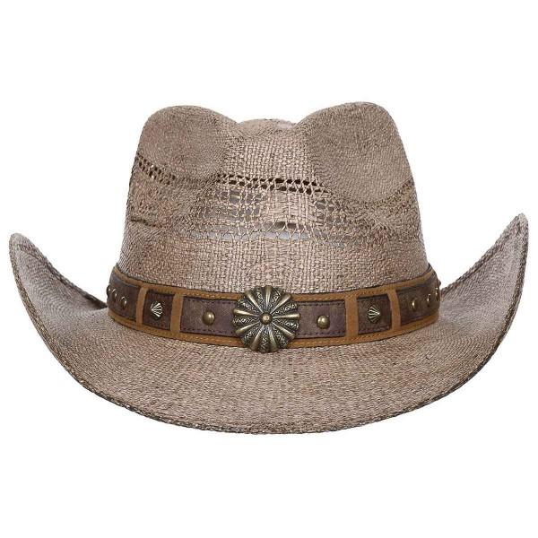 Western Strohhut Colorado mit Hutband