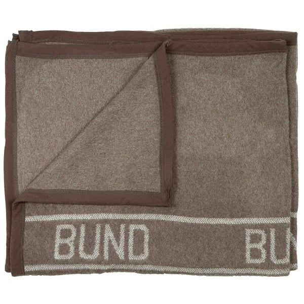 Bundeswehr Wolldecke Import braun