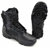 Tactical und Security Stiefel TF mit Reißverschluss schwarz   39 0b17bf33c3