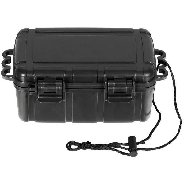 Wasserdichte Kunststoffbox 16,5x12x7,5 schwarz