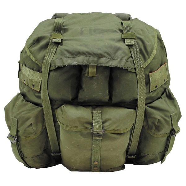 US Army Rucksack Alice Pack large oliv gebr.
