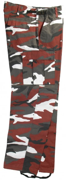 US Army Rangerhose red-camo
