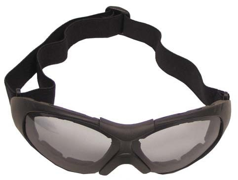 Brille Run schwarz