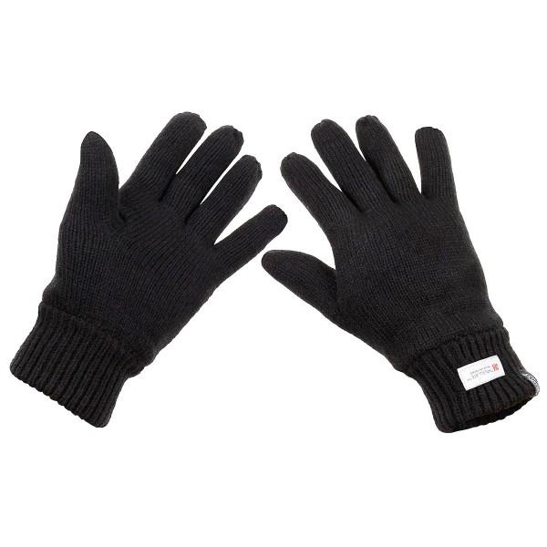 Strick-Handschuhe gefüttert