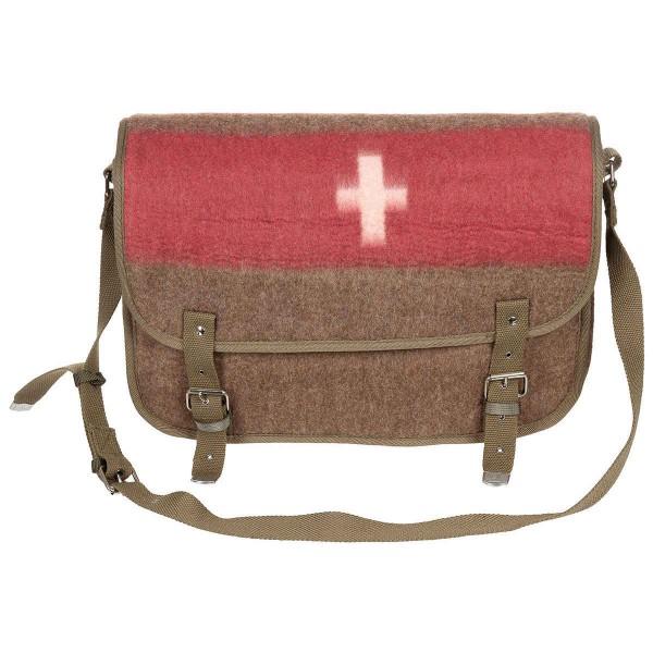 Swiss Umhänge Tasche mit Schweizer Kreuz