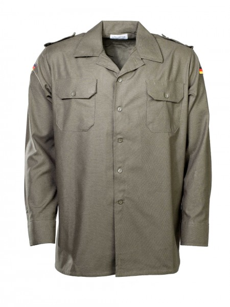 Bundeswehr Feldhemd oliv langarm