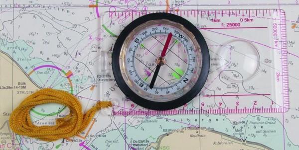 Karten Kompass