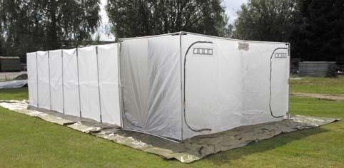 Britisches 25 Mann Mannschafts Zelt