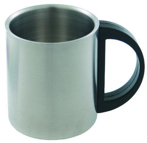 Edelstahl Tasse doppelwandig 220ml