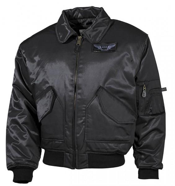 CWU Pilotenjacke Premium-Edition schwarz