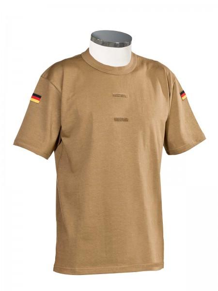 Original Bundeswehr Unterhemd mit Klettstreifen khaki