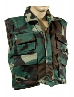 Angelsport Bekleidung Woodland Kinder Outdoor Kombi Weste Hose camouflage Outdoor Militär US Army