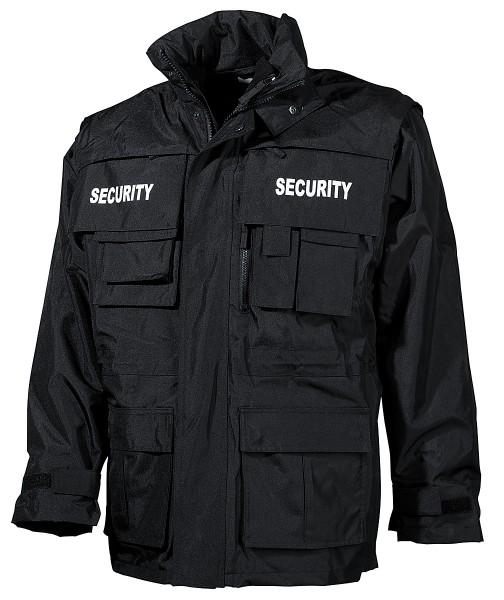 Security Parka schwarz