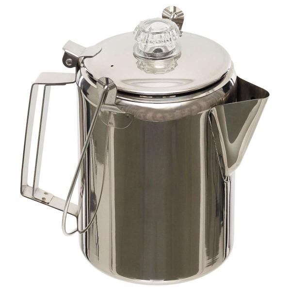 Edelstahl Kaffeekanne mit Perkolator 1,2 Liter