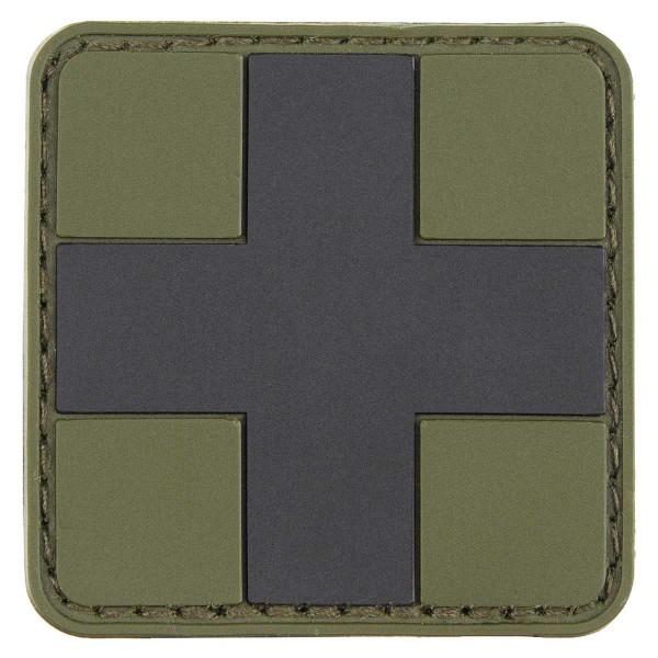 3D Klettabzeichen First Aid 5x5cm