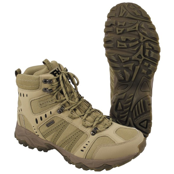 Trekkingstiefel Tactical wasserdicht khaki