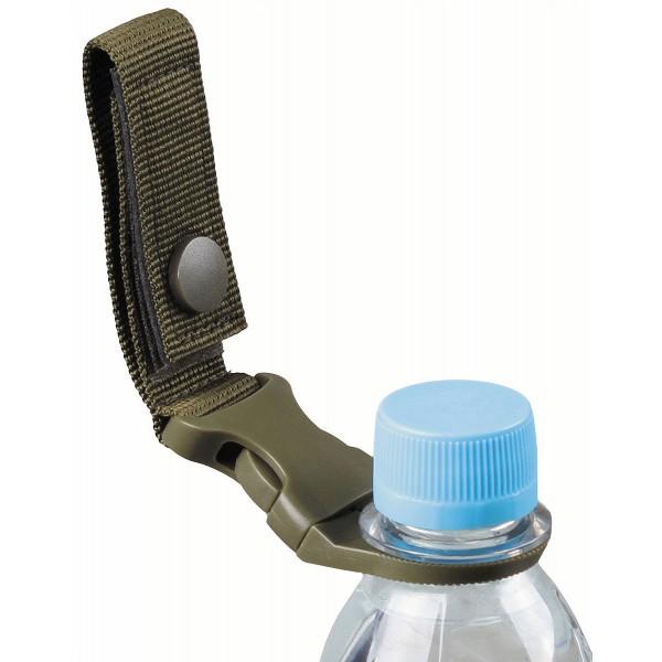 Flaschenhalter für Gürtel und Molle-System
