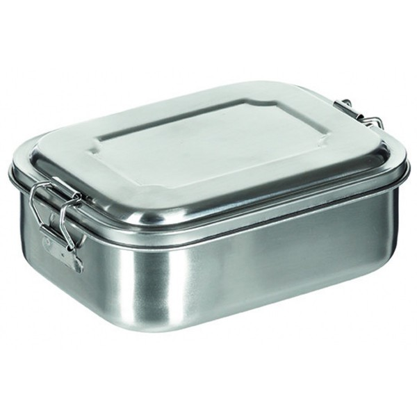 Edelstahl Lunchbox flach 750ml