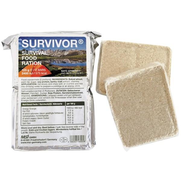 Notverpflegung SURVIVOR® 125g