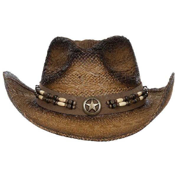 Strohhut Cowboyhut Tennessee mit Hutband