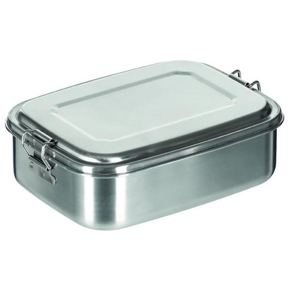 Edelstahl Lunchbox groß 1 Liter