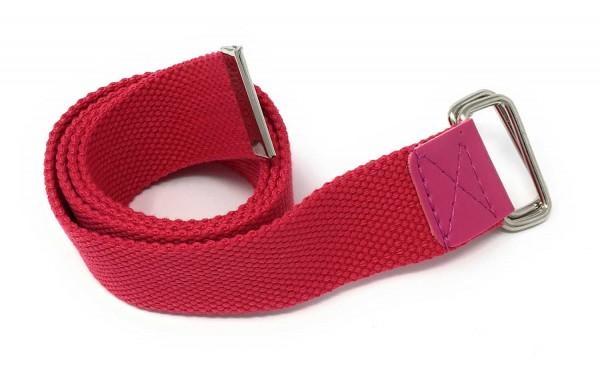 Damen Stoffgürtel pink