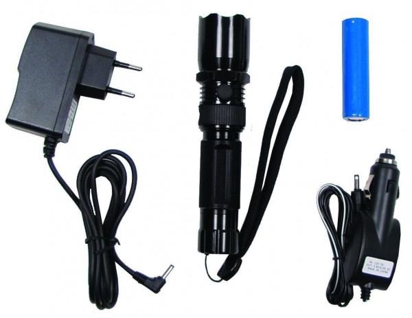 Stablampe 3W LED wiederaufladbar