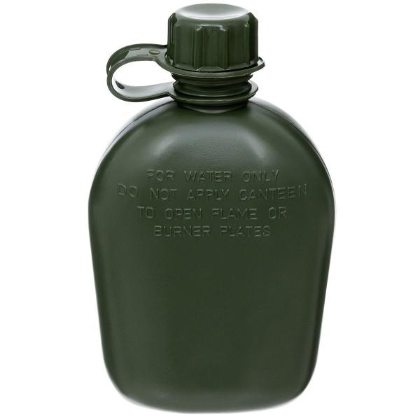 Feldflasche ohne Bezug oliv