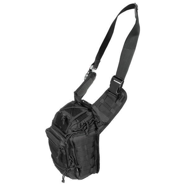 Molle Schulter Umhängetasche Deluxe schwarz