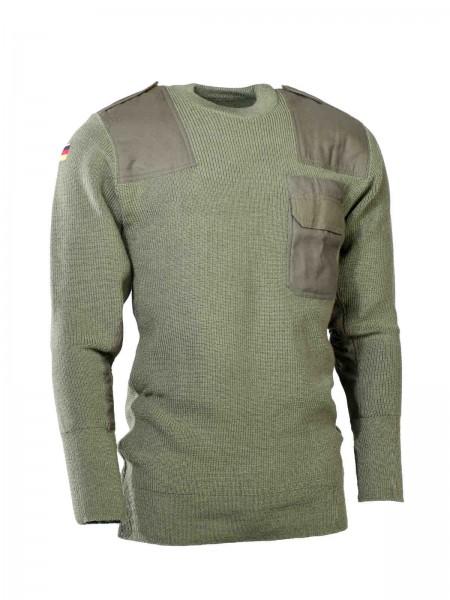 Original Bundeswehr Pullover nach TL oliv