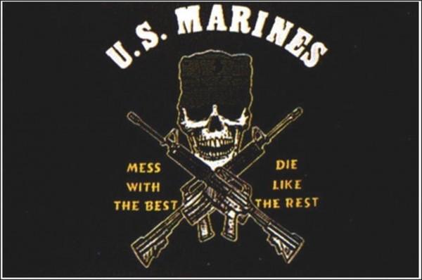 Flagge U.S. Marines