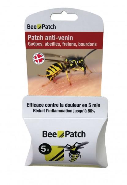 5 St. Insektenpflaster Bee Patch gegen Bienen-, Wespengift usw.