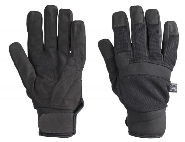 Security Handschuhe Neopren schwarz