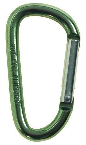 Karabiner D 6mm x 6cm