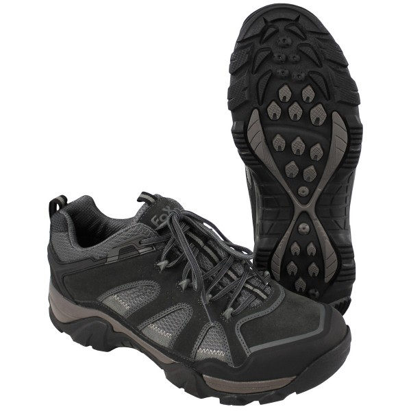 Outdoor Trekkingschuhe Low Mountain grau