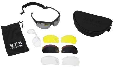 Sportbrille Strike schwarz