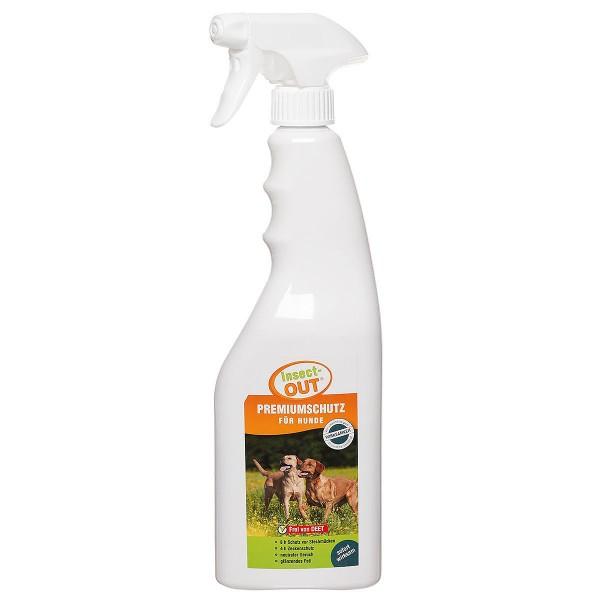 Stechmücken- und Zecken Premiumschutz für Hunde 750ml