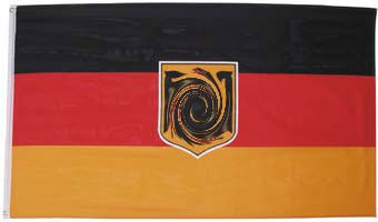 flagge deutschland mit adler kaufen bw. Black Bedroom Furniture Sets. Home Design Ideas