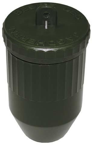 Wasserdichte Kunststoffbox L=11,5cm, D=6,5cm