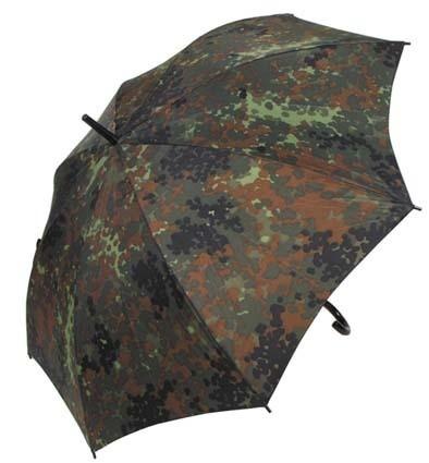 Regenschirm flecktarn