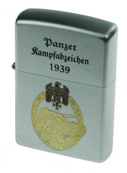 Zippo Feuerzeug Panzer Kampfabzeichen 1939